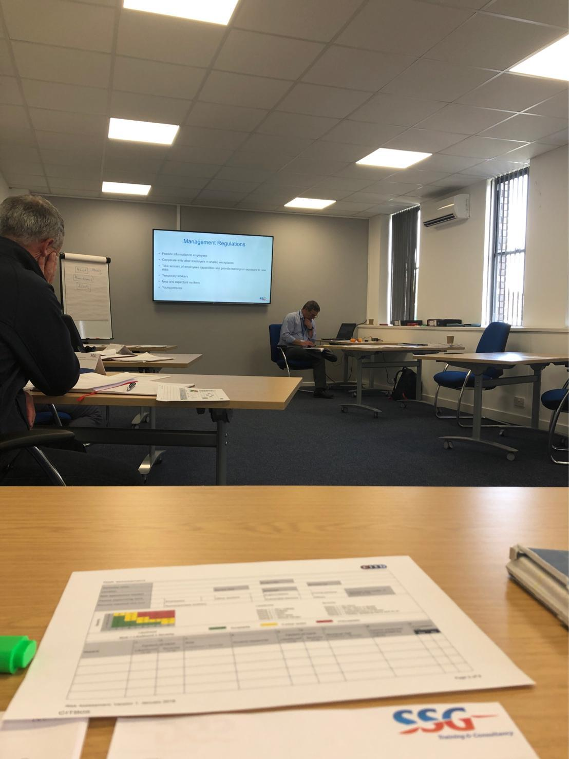 GS prioritise Health and Safety with course completion