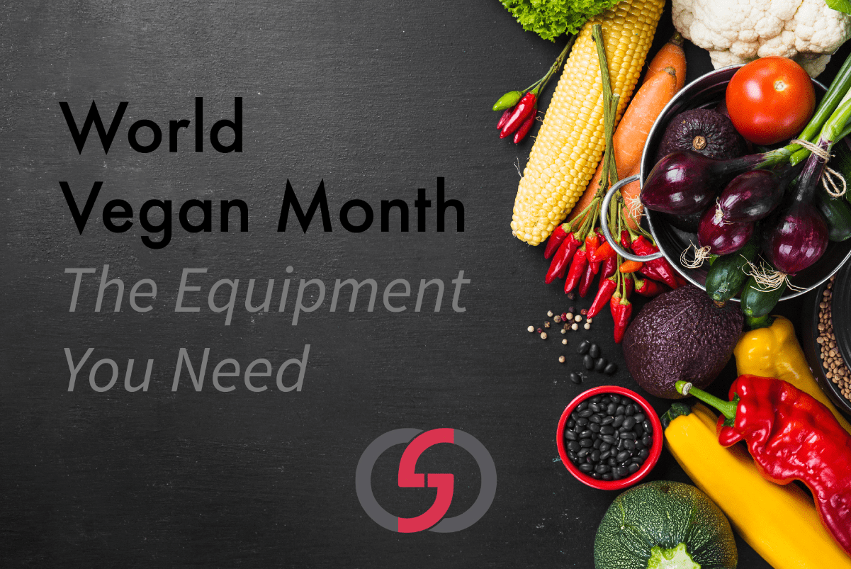 World Vegan Month: The equipment needed for your commercial kitchen