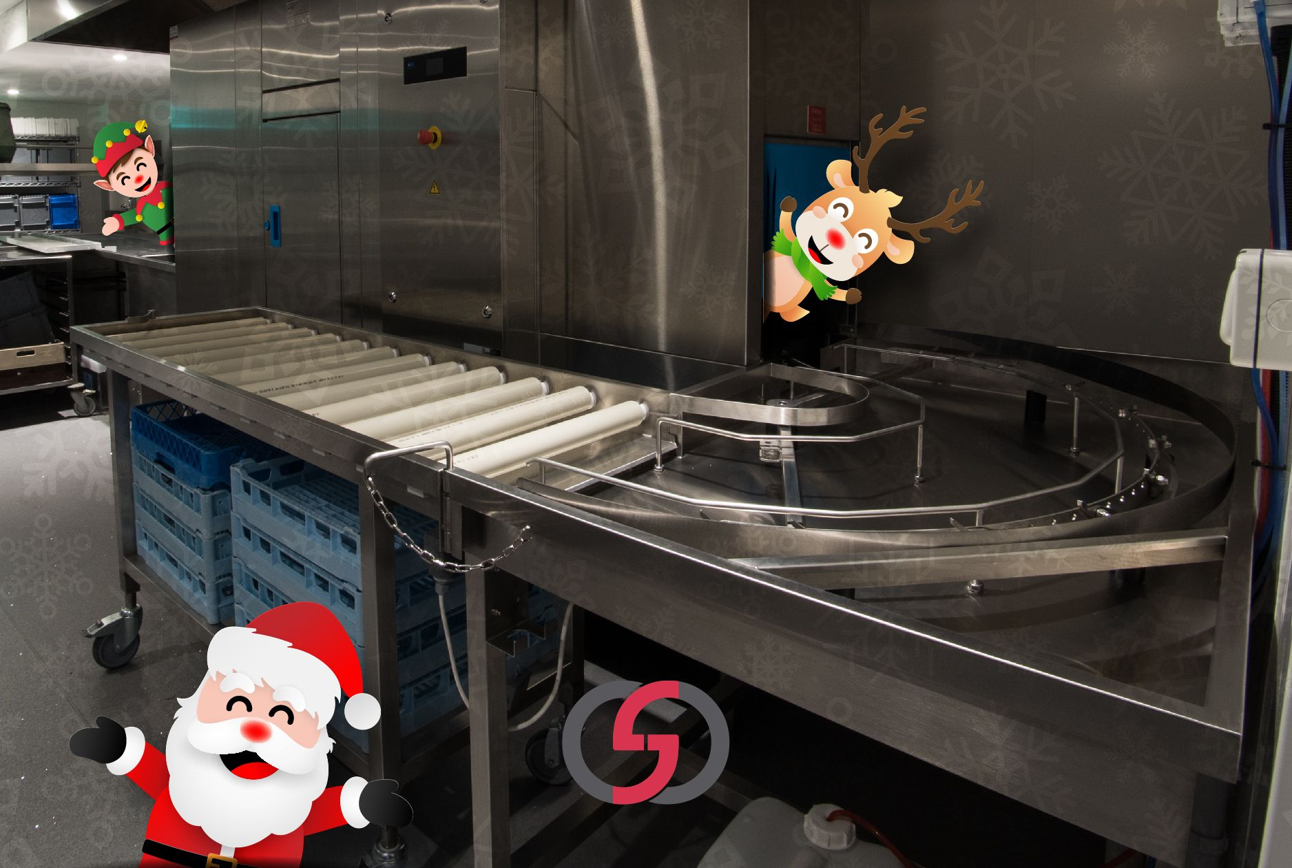 The importance of efficient catering equipment over the festive period